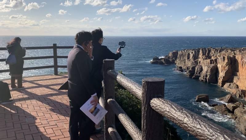 「三段壁オンライン探検ツアー」